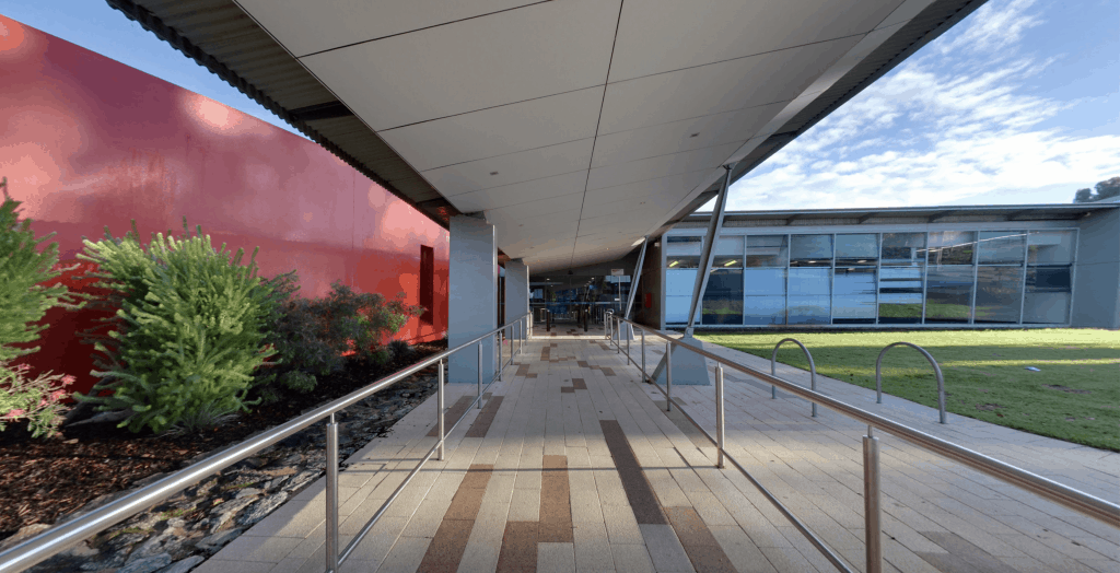 Entry to the Kwinana Requatic Centre